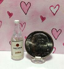Dollhouse Miniature Bottle of Rum - Famous Brand  1:12
