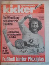 KICKER 105- 29.12. 1988 Gaudino Brehme Klinsmann FC St.Pauli+1.FC Kaiserslautern
