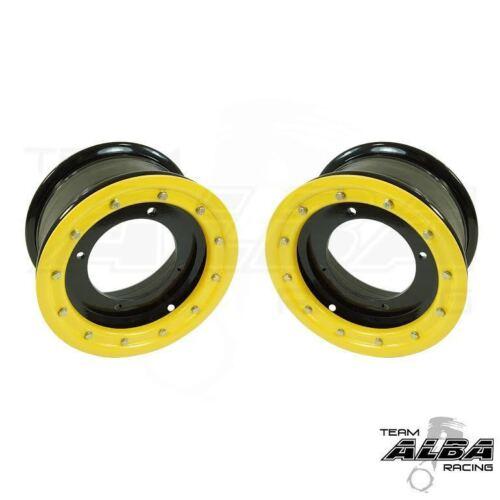 TRX 450R 400EX 300EX  Front Wheels  Beadlock  10x5  3+2  4/144  Alba Racing  BY