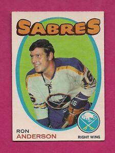 1971-72-OPC-163-SABRES-RON-ANDERSON-EX-MT-CARD-INV-3010
