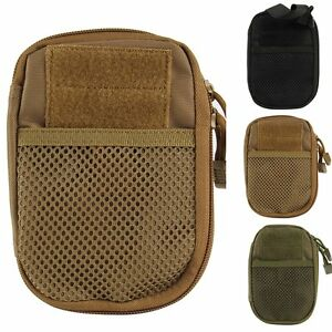 Outdoor Tactical Military Molle Pouch Fanny Pack Bag Phone Pocket Belt Waist Bag