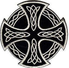 CELTIC CROSS IRON ON PATCH/Bikers, Retro, Goth, Boho, Punk, Symbols