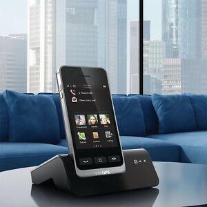 3 x Philips S10A Téléphone sans fil avec Répondeur Bluetooth mains libres-afficher le titre d`origine mz1wMOak-07145208-743534302