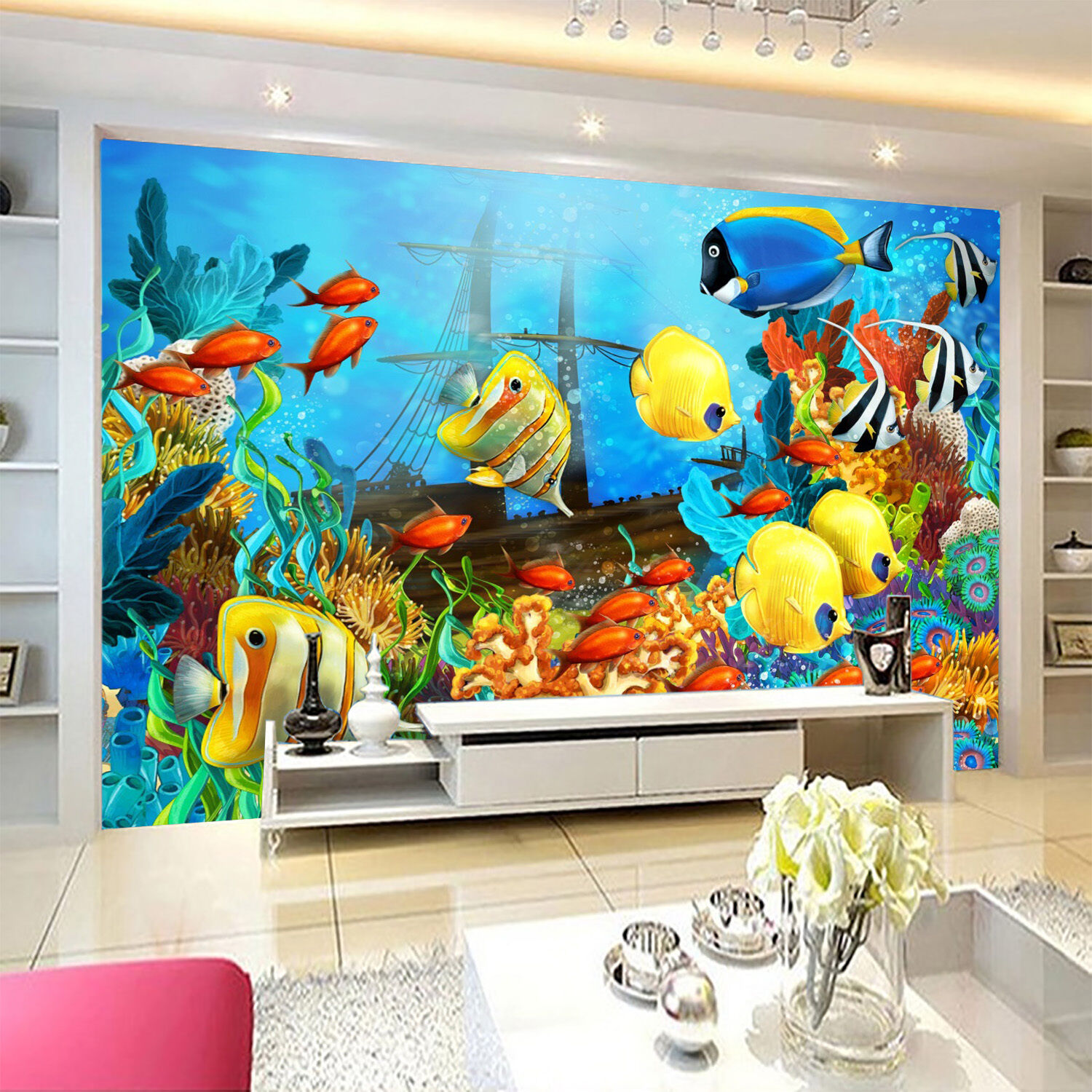 3D Pretty Seabed World 2252 Paper Wall Print Wall Decal Wall Deco Indoor Murals
