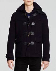 Burberry brit duffle coat mens