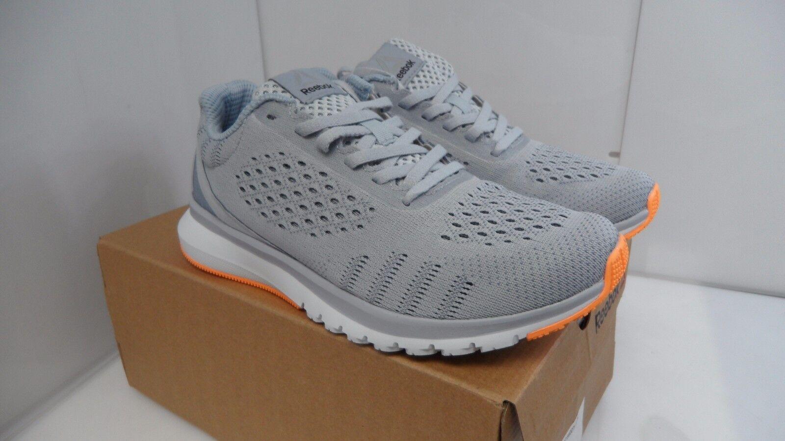 Reebok Women's Print Smooth Ultraknit Running Shoes 6.5 US Grey