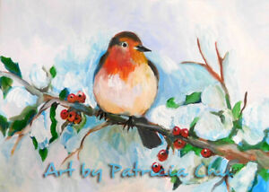 ACEO Limited Edition Little robin