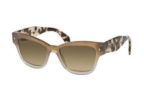fb49e0e75b3 PRADA Heritage Spotted Opal Brown Butterfly 29r Sunglasses Pr29rs Authentic  for sale online