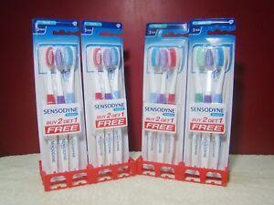 Toothbrush-12x-Sensodyne-Sensitive-Soft-Bristles-Soft-GSK-Lot-of-12-Free-Ship