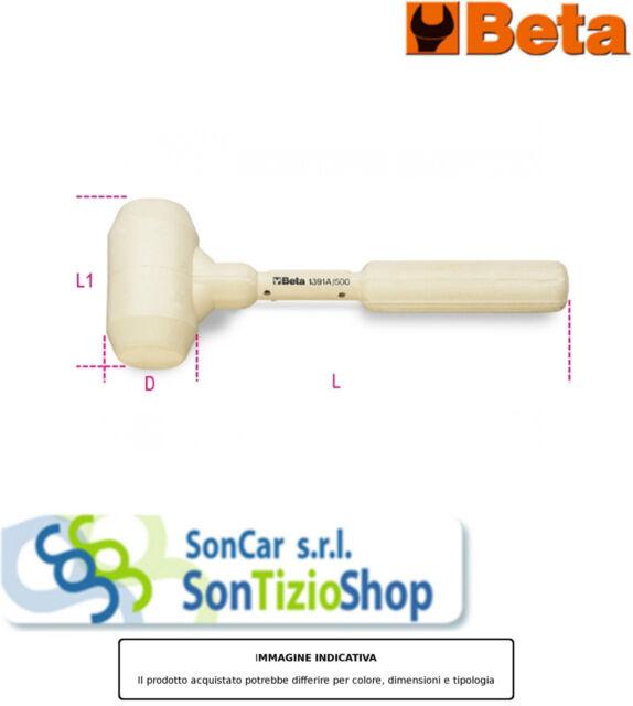 BETA 1391 A1000 Articolo Originale! MAZZUOLE GOMMA BIANCA A/1000