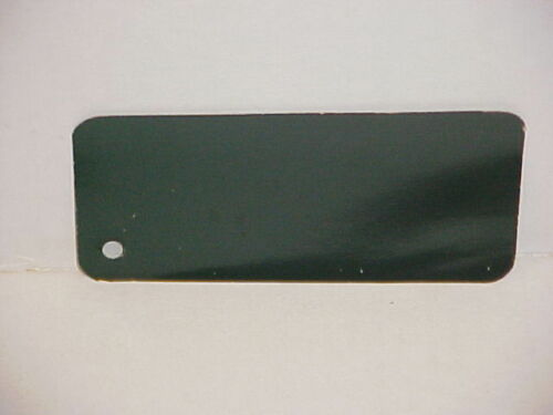 1937 FORD CAR TRUCK SHERWIN WILLIAMS PAINT CHIP SAMPLE BRIGHT VINEYARD GREEN
