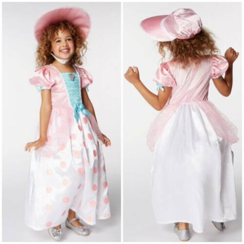 Disney Toy Story Bo Peep Fancy Dress Costume//Dressing Up Outfit ~ Girls 7-8 Yrs