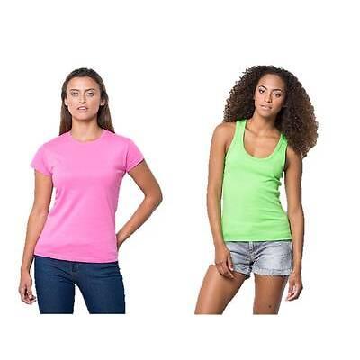 coppia t-shirt donna manica corta AZALEA + canotta incrocio dietro LIME