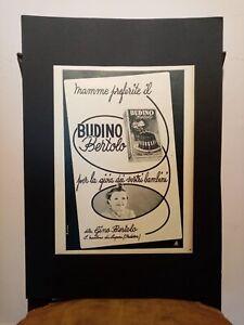 Pubblicita-originale-Budino-Bertolo-anni-039-50-da-rivista-in-passepartout