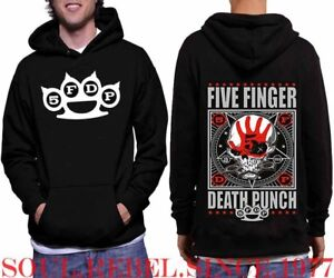 FIVE-FINGER-DEATH-PUNCH-PUNK-ROCK-BAND-BIG-LOGO-HOODIE-MEN-039-S-SIZES