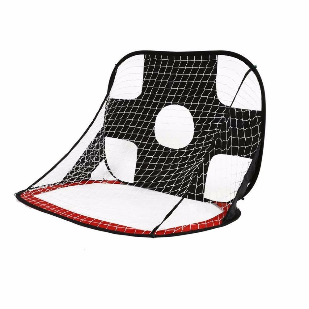 Foldable Football Gate Net Goal Gate Extra-Sturdy Portable Soccer Ball Practice