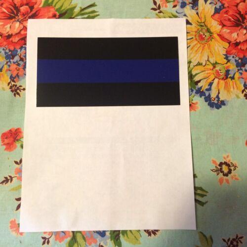 USA Flag Thin Blue Line Car Truck Bumper Sticker Decal Vinyl Police Lives Matter