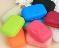 Travel Hiking Soap Dish Box Holder Case Container Bath Shower Outdoor Large