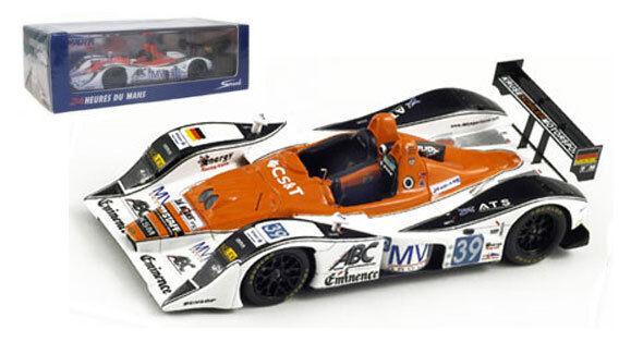 Spark S2563 Lola-Judd 'KSM'  39 Le  Mans 2010 - 1 43 Scale  Envoi gratuit pour toutes les commandes