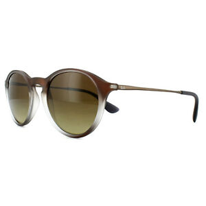 b702bcc900 Image is loading Ray-Ban-Sunglasses-4243-622413-Brown-Fade-Brown-