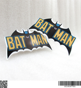 5 X 52mm Nuevo Batman Corte Láser reverso plano Resina Diademas arcos placas elaboración de tarjetas