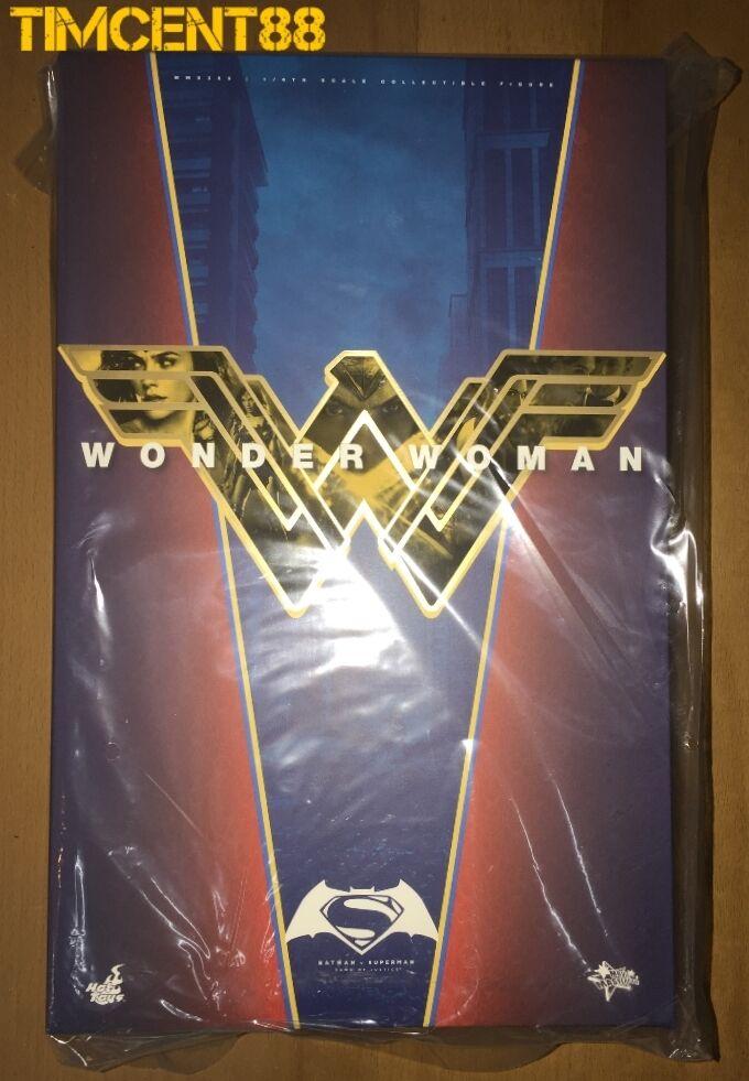 heta leksaker MMS359 läderlappen mot Superman Dawn of Justice Wonder kvinna Gal Gadot 1  6 Ny