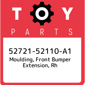 52721-52110-A1-Toyota-Moulding-front-bumper-extension-rh-5272152110A1-New-Gen