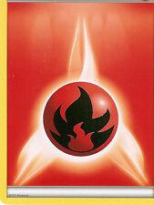 POKEMON - FIRE ENERGY CARD FROM THE PLASMA BLAST ELITE TRAINER BOX