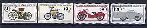 ALEMANIA-RFA-WEST-GERMANY-1983-MNH-SC-B605-B608-Historic-motorcycles