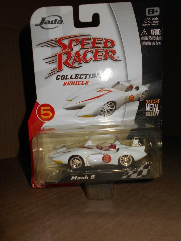 New 2008 Jada Toys Speed Racer Mach 5 Collectible Die-cast Metal Vehicle