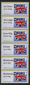NCR-TYPE-IIA-FLAG-FLAGS-COLL-STRIP-6-w-EU-amp-WW-to-60g-EURO-20g-WW-10g-POST-amp-GO