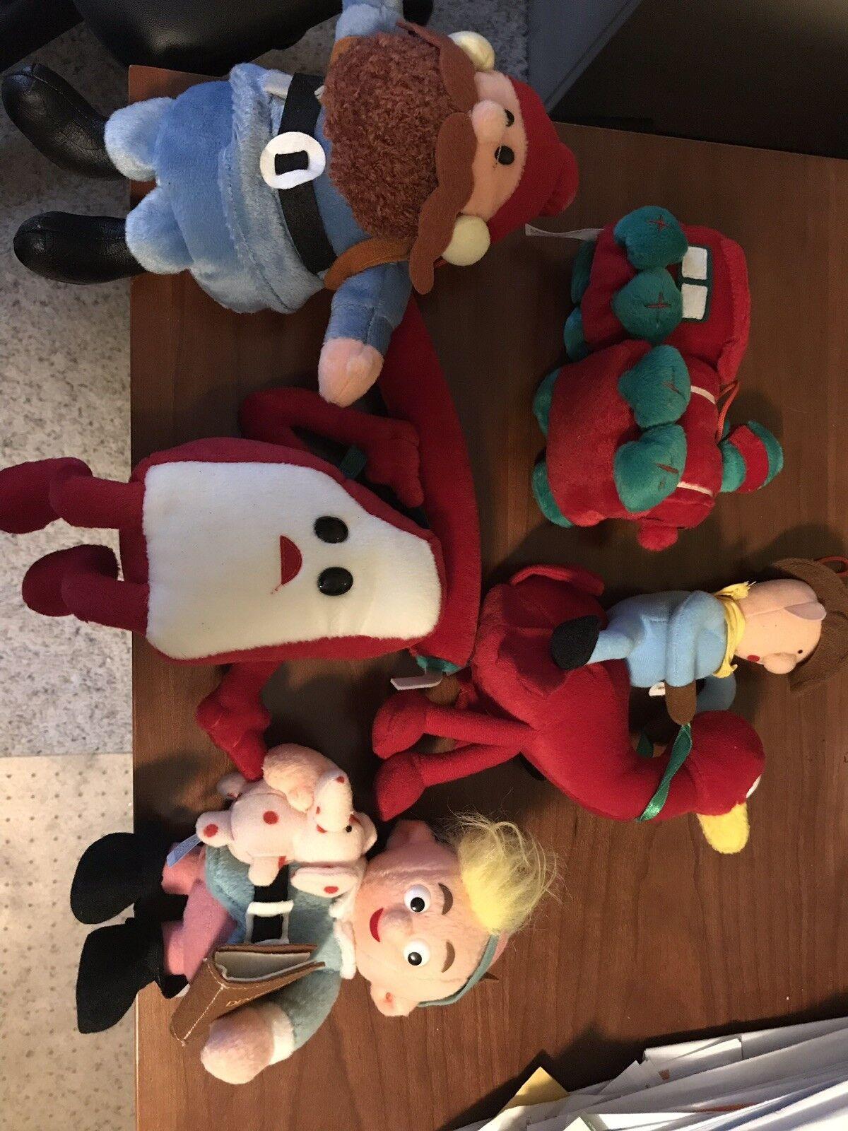 5 CVS Island of Misfit Toys STUFFINS Plush Stuffed Lot