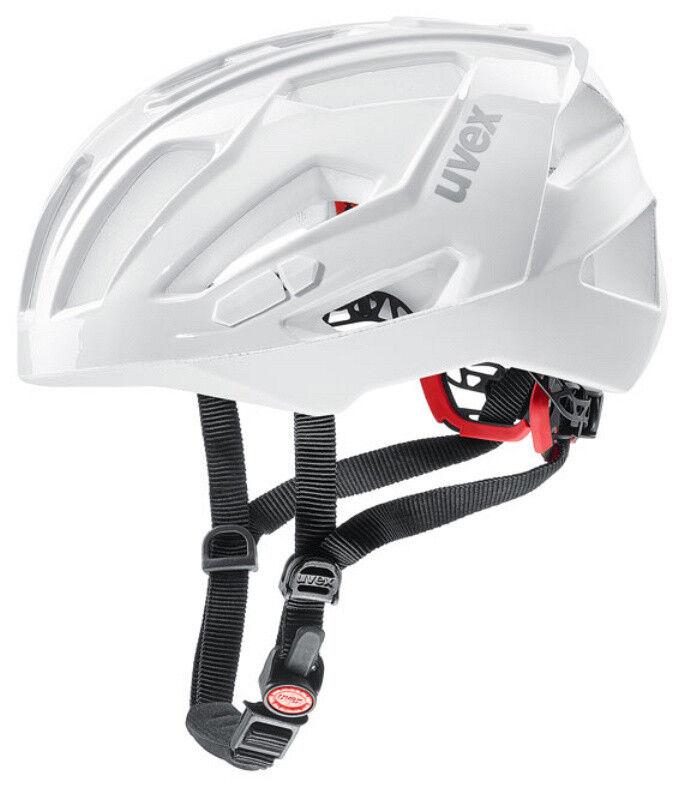 UVEX Race Crosscountry Fahrradhelm Quatro XC Weiß 56-61 cm cm cm 2c1b35