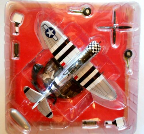 WWII Aircraft Collection 1//72 Republic P-47D Thunderbolt Razor Back USA #74