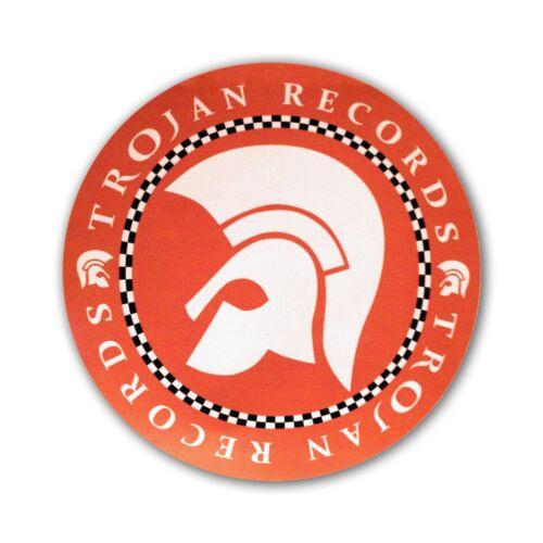 Ska Reggae Decal 145mm MS14 Orange Trojan Records Sticker Oi