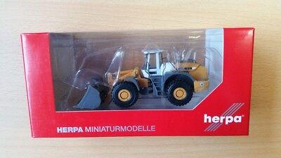 Humor Herpa 148122-001 Neu Elegantes Und Robustes Paket 1/87 Liebherr L580 Radlader