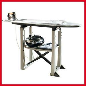 BAMA Trend Asse da Stiro pieghevole tavolo grigio in resina per stirare