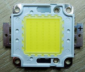 50 W Watt LED Chip Cold White, 24*40 Mil, 4500 LM, 6000k, KW, COB, FLOODLIGHT, Flood Light
