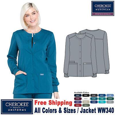 Cherokee Scrubs Set PROFESSIONAL Warm-up Jacket /& Cargo Pant WW340//WW170 Regular