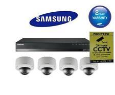 KIT CCTV SAMSUNG srn-472s a NVR & 4 x snv-7080p Vandalo Prova ad alta res telecamere 3mp
