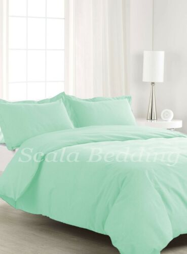 1 Piece Solid Duvet Cover 800 TC Egyptian Cotton All Sizes and Colour