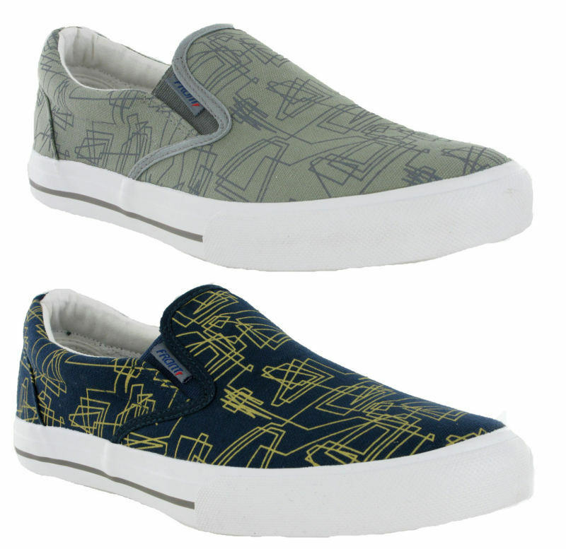 Front London Fashion Smart Casual Mens Slip On Navy Grey Mens Casual Canvas Pumps Shoes 379ac6