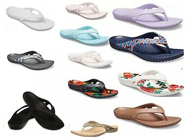 Leopard Women/'s CROCS Kadee ll Flip Sandals Black Pink Navy Flamingo,/& MORE