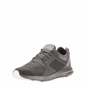 Ariat-10025140-Men-039-s-Fuse-Lightweight-Athletic-Lace-Up-Black-Grey-Running-Shoes