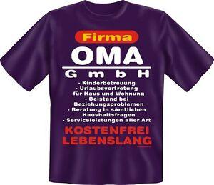 T-SHIRT-Azienda-NONNA-GmbH-Compleanno-Festa-della-mamma-fun-shirts-REGALO