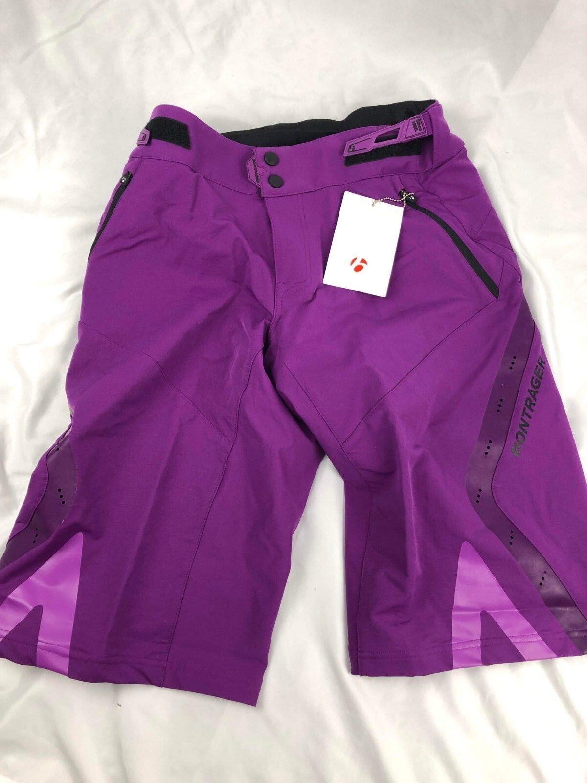 Bontrager Lithos Men's MTB Shorts Dimensione Medium viola 3h