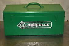 Greenlee Hydraulic Foot Pump 12 To 2 Knockout Set 1725 Kit