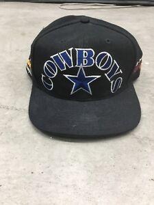 80d22f548 SIGNED* VTG DALLAS COWBOYS 90s USA Team NFL Hat Cap Snapback Super ...