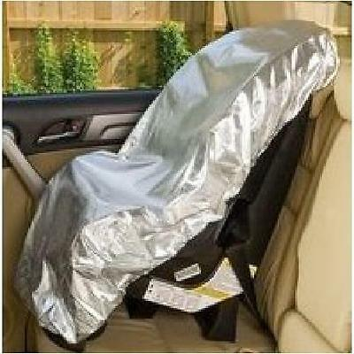 Mommy's Helper Car Seat Sun Shade - Direct Sunlight Carseat Protector Cover