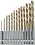 13-pieza-o-pedazo-5-Set-1-4-034-Titanio-Recubierto-HSS-Drill-Bit-Set-Para-Madera-O-Metal miniatura 5